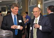 John Lutz of Navigant Consulting and John Bennett, CEO of CDPHP