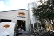 Cigar City Brewing's $4 million expansion includes Brew House II's bulk silo where 2-row malted barley is stored.