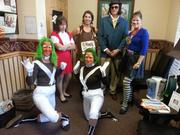 Passport Health of Tampa Bay's staff dressed up on Halloween.