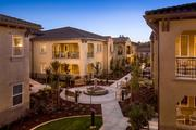 The community includes apartments like these pictured here.