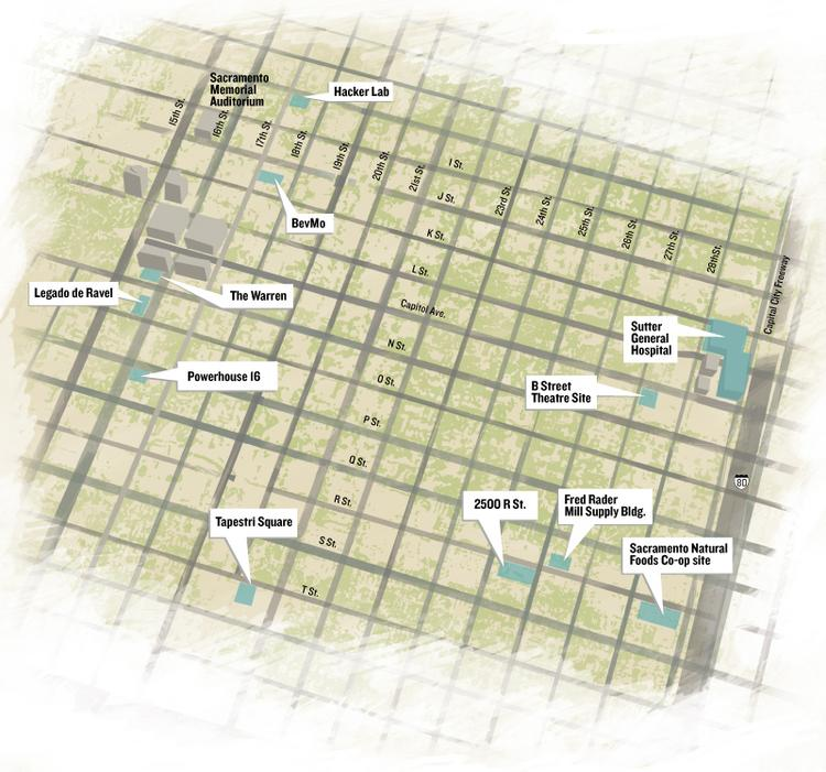 Map: Midtown projects