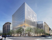 A wide view of the proposed CityCenterDC hotel. No operator has been announced yet.