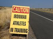 Mark Freid's training includes 13-16 weeks of intense race-specific training, 14-20 hours a week.