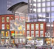 The retail component of the $1 billion TD Garden expansion project.