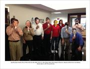 Those that didn't dress up for Halloween at Cushman & Wakefield were given masks.