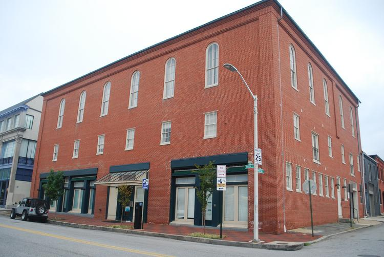 Ken Rice plans to redevelop 10 W. Eager St. in Mount Vernon.