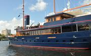 """A closer look at the 137-foot yacht """"Bread."""""""