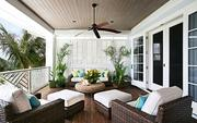 The Premier Sotheby's International Realty team set up a website for the house at 703 Casey Key Road. Outdoor patio photo from the listing.