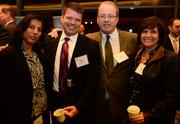 Veena Sistia, Bryan Ferris, Lonnie McClure, and Lauraine Brazil, all with GE Digital Energy.