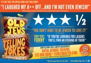 """The producers of """"Old Jews Tellings Jokes"""" are launching a new print ad campaign next week."""