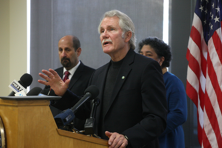 Governor Kitzhaber said he believes 100,000 Oregonians will be signed up for health insurance by Jan. 1.