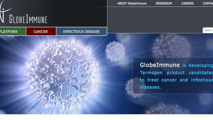 Biotech drug research company GlobeImmune went public in a July 2 IPO.