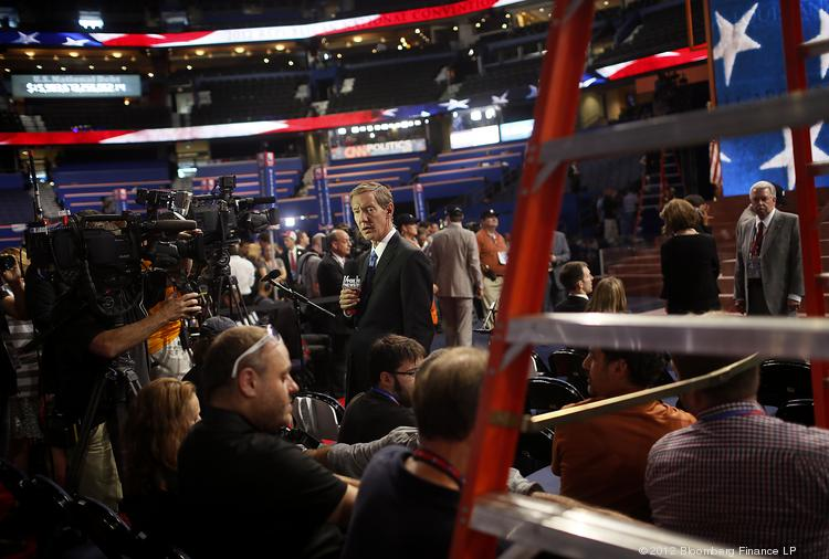 A scene from the 2012 Republican National Convention, which was held in Tampa.