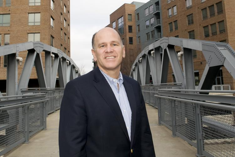 Brian Ellis is optimistic he'll find a tenant to take Resource's place in the Arena District.