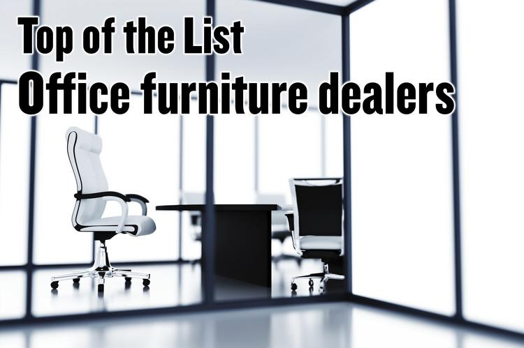 This week's list features office furniture dealers. Together the 20 companies on our list employ 337 people.
