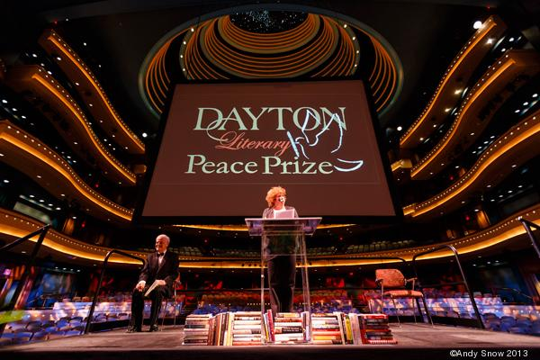 Three awards were presented during the eighth-annual Dayton Literary Peace Prize gala on Sunday, the first and only U.S. award to recognize the power of literature to influence peace.