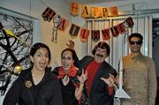 Story: See how Houston businesses got in the Halloween spirit  Pictured: This is Formation's Woodlands' office celebrating Halloween. From left to right, Aide Gutierrez, Mandy LeBlanc, Philip LeBlanc and Erich Theaman.
