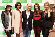 From left, Gilt City's Marissa Schneider, author Helena Andrews, Benetton USA President and CEO Ari Hoffman, Washingtonian's Kate Bennett and Washington personality Susanna Quinn.