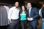 On Oct. 30, Washington VIPs and fashion industry insiders were treated to an exclusive glimpse of the United Colors of Benetton Autumn/Winter 2013 collection at the Georgetown flagship store. From left, NBC 4's Jason Pugh, Dianna Russini and Doug Kammerer.
