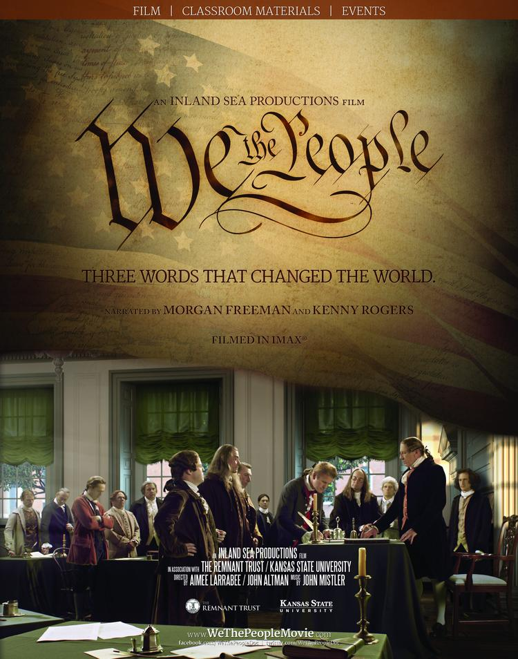 """This is the movie poster for """"We the People."""""""
