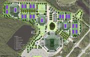 Plans for the Crandon Park Tennis Center renovations were revealed Wednesday.