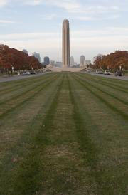 Harden says the Liberty Memorial is an example of how a simple concept like symmetry can lead to beautiful design.