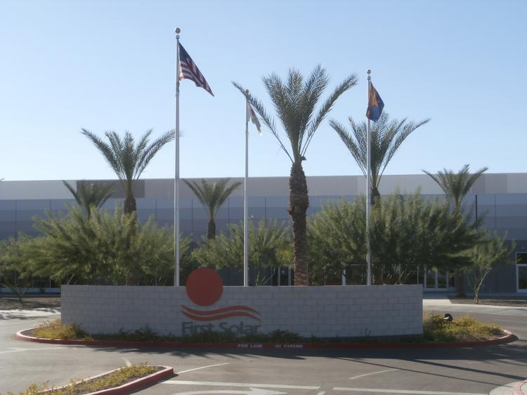Tempe-based First Solar is selling its factory to Apple Inc. for $100 million.