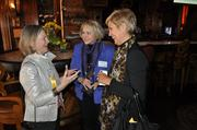 From left to right: Former Orlando Mayor and 2013 Legacy Award winner Glenda Hood talks with and fellow Women Who Mean Business honoree Cari Coats of Rollins College, Crummer Graduate School of Business.