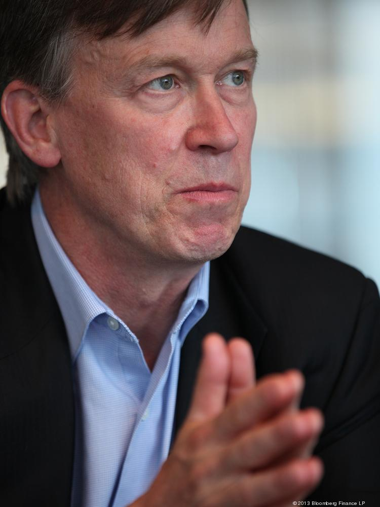 Colorado Gov. John Hickenlooper.