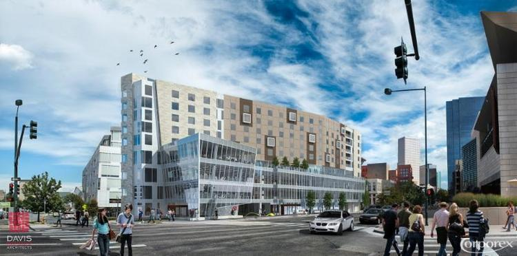 the ART hotel will be built at 12th and Broadway, adjacent to the Museum Residences