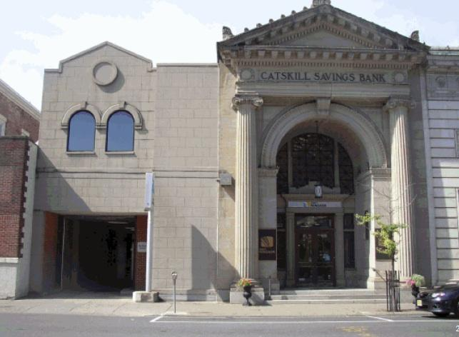The Bank of Greene County has acquired the former Catskill Savings Bank headquarters, and will move its lending center and some administrative jobs there.