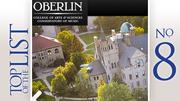 Oberlin College Rank: 448 Cost of a degree:  $223,100 30-year return on investment: $597,400