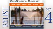 Ohio Northern University Rank: 243 Cost of a degree:  $188,800 30-year return on investment: $739,300