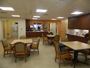 The center can provide services to up to 50 seniors at one time.