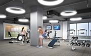 A new fitness center and common areas are among the changes at 1776 Eye St. NW.