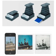 Impossible Instant Lab  This company takes your digital iPhone pictures and turns them into film photos. It launched a kickstarter campaign in 2012 and looks to be hitting the market soon. (Let's not lose the irony. Remember when we used to take our film photos and try to digitalize them?)