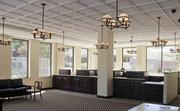 Inside First Partners Bank's new location at 2121 Highland Avenue.