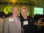 Lyles Carr of The McCormick Group with Catherine Meloy of Goodwill of Greater Washington.