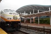 The SunRail station provides direct access to bus transportation and within a convenient distance of downtown Orlando businesses.