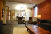 Law firm Gevurtz Menashe traded its corporate offices in downtown for a fresh new environment in historic Old Town/Chinatown. Exposed brick and glass walls create a sense of openness.