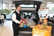 Sheehy Auto Stores throughout the Washington region collected more than one ton of food to benefit Feeding America, the Southern Maryland Food Bank and other community food banks as part of the company's annual fall campaign.