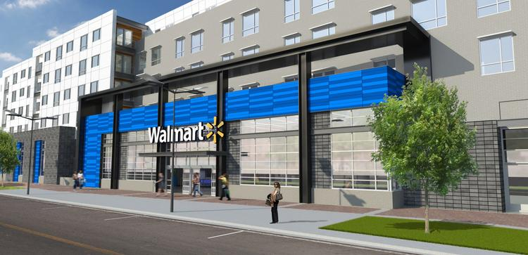 JBG Cos. is the busiest developer in the District, per the D.C. Economic Partnership Development Report. Here, JBG is developing a Walmart-anchored mixed-use project in Washington, D.C.'s Fort Totten neighborhood.
