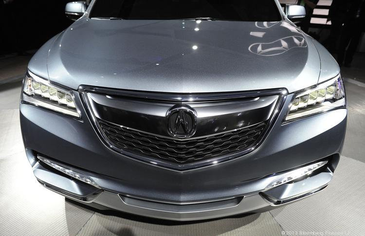 Upscale car dealer Niello Acura is moving its dealership to the Roseville Automall while keeping its existing location on Madison Avenue as a pre-owned sales center and service center. This is an Acura MDX crossover.