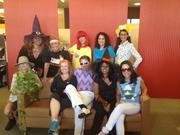Ram Realty Services had disco music blasting throughout the office on Halloween.