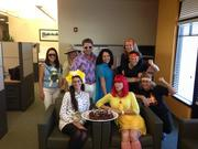 Halloween fun at Ram Realty Services.