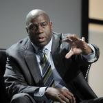 Magic Johnson to receive first Roger Staubach award at the <strong>Emmitt</strong> <strong>Smith</strong> invitational