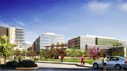 Initial Plans, Shown Here, For The Parkplace Development In Kirkland Have  Been Changed.