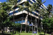 The leasehold office building Haseko Center in Downtown Honolulu is on the market for an undisclosed price.