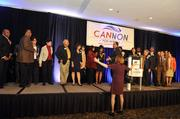 Cannon supporters gather at the Sheraton.