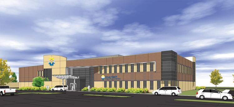 Group Health is moving from Springdale to this facility in West Chester.